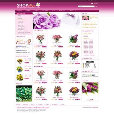 Website Bán Hoa