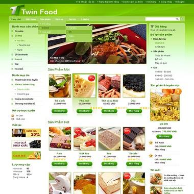 Website Bán Thức Ăn